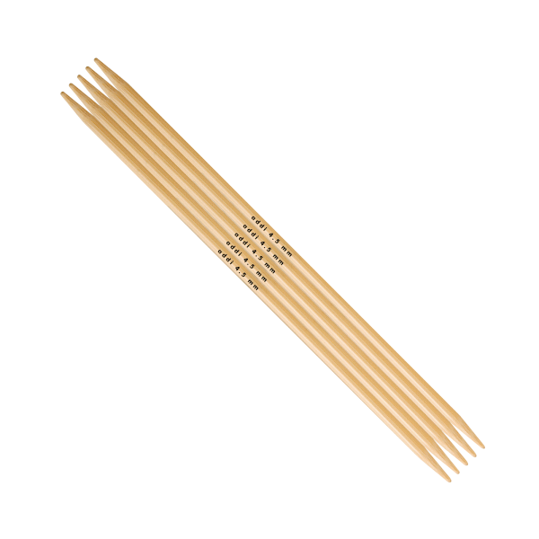 Addi Bambus Strumpfstricknadel 5,0 mm bei 20 cm