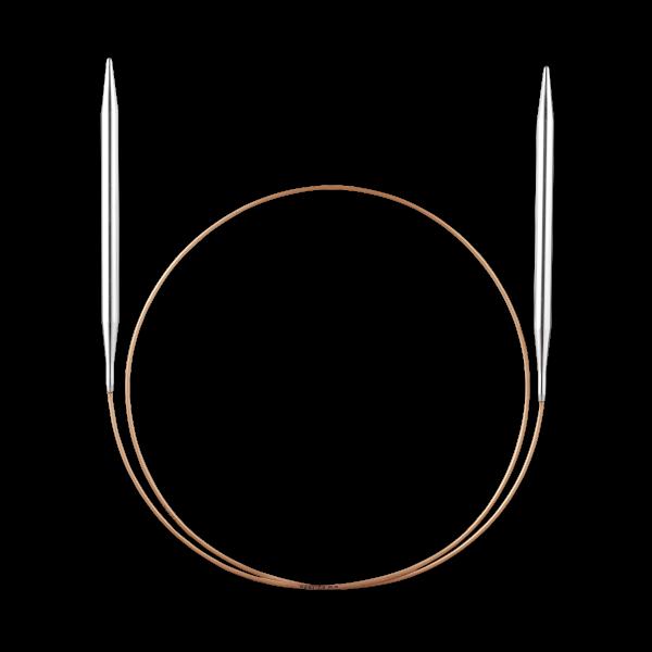 addi - Rundstricknadel - 5,0 mm in 80 cm