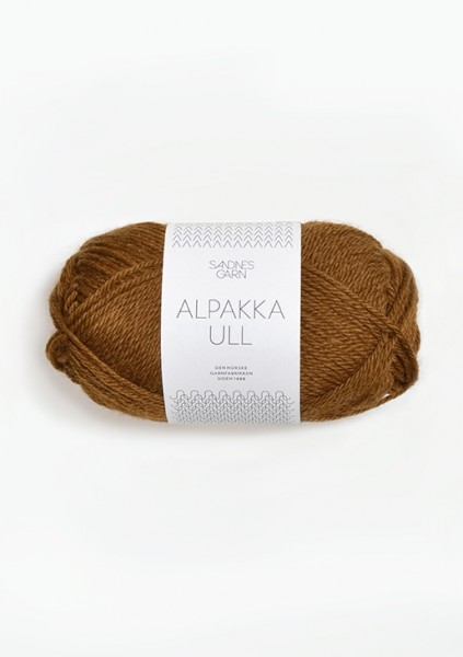 Sandnes Garn - Alpakka Ull - 2564 - Gyllenbrun