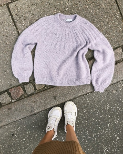 PetiteKnit Sunday Sweater - Mohair Edition