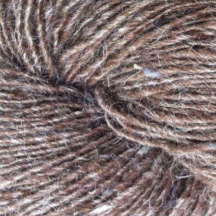Isager Tweed - Walnut