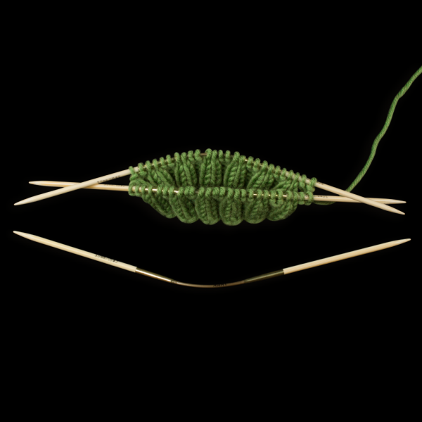 addiCraSyTrio Bamboo 2,5 mm bei 24 cm