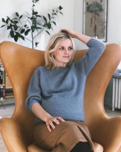 PetiteKnit Novice Sweater - Mohair Edition