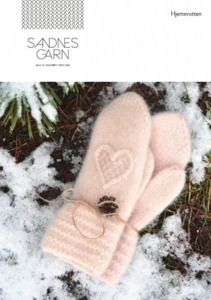 Sandnes Garn - Strickpackung - Herzfäustlinge