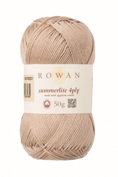 Rowan Summerlite 4ply-Sand Dune