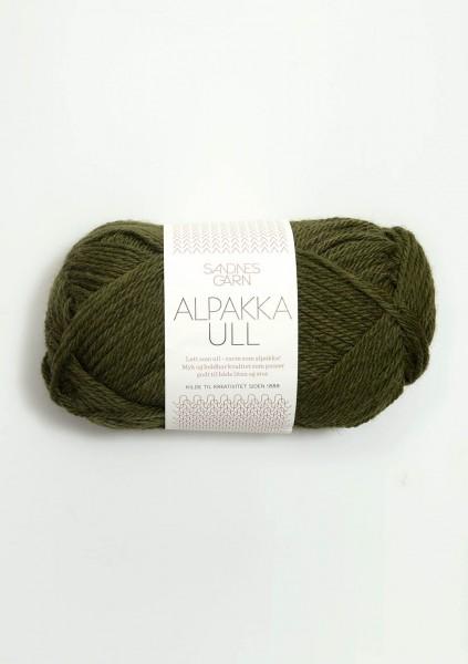 Sandnes Garn - Alpakka Ull - 9573 - Mosegronn