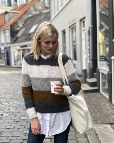 PetiteKnit Sekvens Sweater