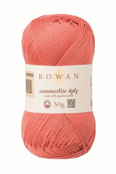 Rowan Summerlite 4ply - Langoustino