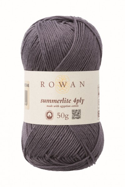 Rowan Summerlite 4ply - Anchor Grey