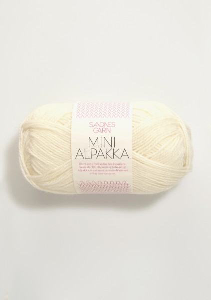 SandnesGarn - Mini Alpakka - 1012