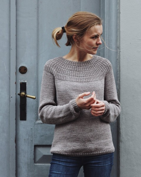 PetiteKnit - Ankers Pullover