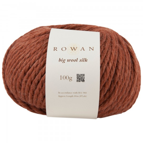 Rowan Big Wool Silk 00707 brick