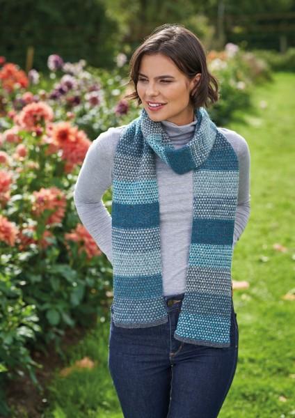 Rowan Felted Tweed - Schal / Tuch - Strickpackung - Blau