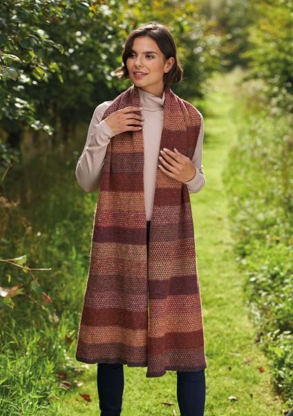 Rowan Felted Tweed - Schal / Tuch - Strickpackung - Pink