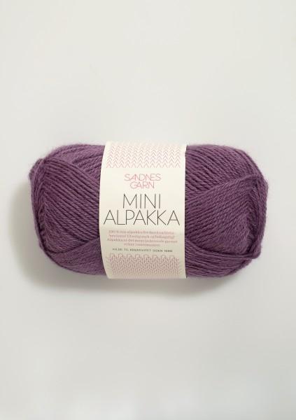 Sandnes Mini Alpakka - 4663 weinrot