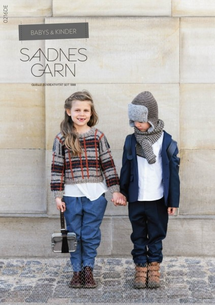Sandnes Garn - Magazine - Baby & Children - 0216EN