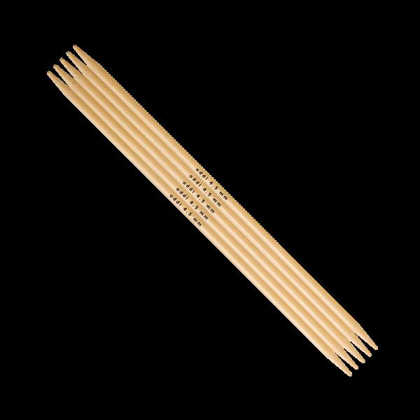 addi Bambus Strumpfstricknadel 4,5 mm bei 20 cm