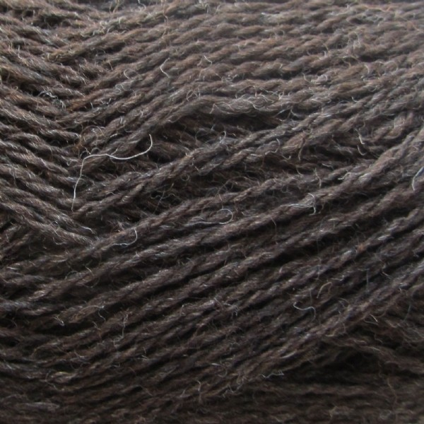 Isager Highland Wool-Chocolate