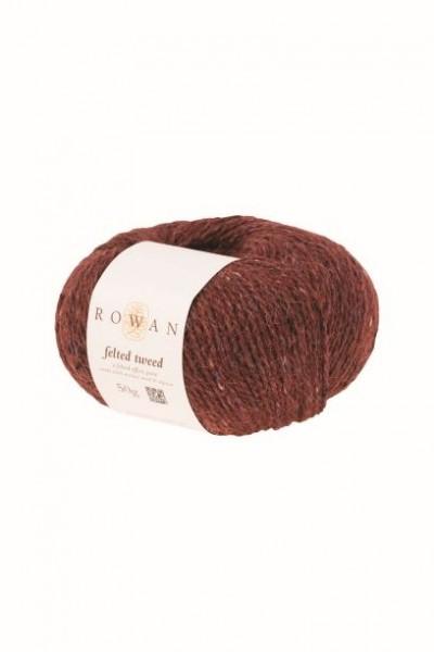Rowan Felted Tweed Barn Red