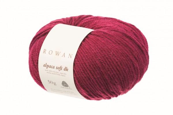 Rowan Alpaca Soft DK - Deep Rose